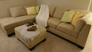 Like new sectional sofa for sale