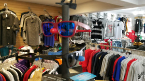 MIXED STYLES Brand Name Clothing Store