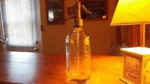 Vintage Seltzer Bottle Circa 1940's