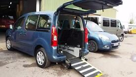 2012 Peugeot Partner Tepee Diesel Wheelchair Disabled Accessible Vehicle