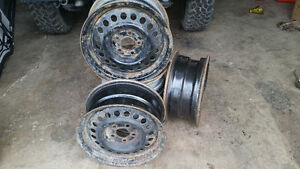"14"" steel rims 5x100 mm"