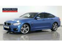 2014 BMW 4 Series 2014 64 BMW 430D 3.0 M Sport Gran Coupe Diesel blue Automatic