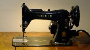 Vintage 1955 Singer Model 99k Sewing Machine with Mahogany Table Peterborough Peterborough Area image 2