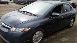 2008 Honda Civic Hybrid CVT WOW WOW  300.00 GAS CARD  HURRY I