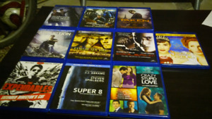 Blue Ray Movies $5 each