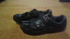 Shimano cycling shoes sz 45