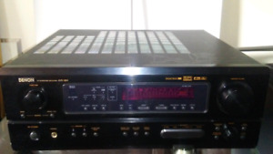 Denon AVR-1804 Home Theater 6.1 Surround Receiver System (No RC)