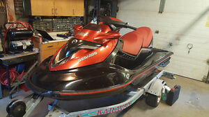 2006 SeaDoo RXT and trailer.