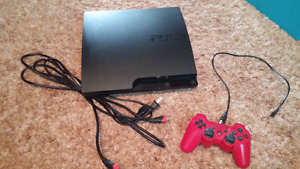 320 gig slim PS3 with 21 games.