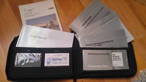 Mercedes C280 1995 Owner's manual