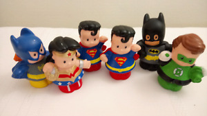 Fisher Price Little People DC Marvel Superheros