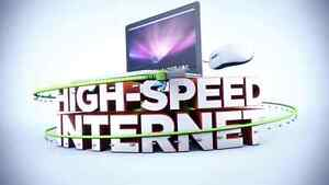 Unlimited high speed Internet and home phone