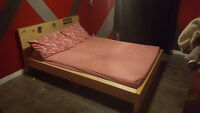 Ikea bed dresser and end table
