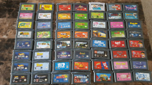 Selling 65 gameboy advance cartridges
