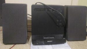 Sony micro HI-FI stereo system