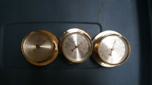Used marine / boat instruments Thermometer, Barometer, Humidity