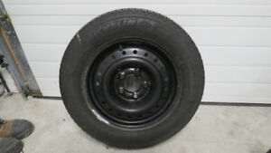 Honda Civic Snow Tires and Rims