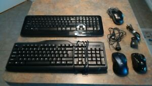 Computer Keyboards and Mice / Mouse - Assorted