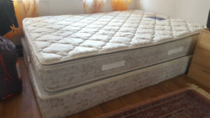 Free queen size mattress with box spring