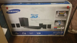 Samsung blue ray 3D surround sound system.
