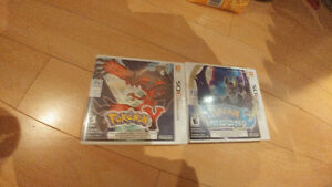 Pokemon Y, Pokemon Moon games.