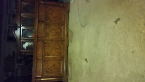 Solid Wood Hutch For Sale $400.00 London Ontario image 1
