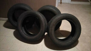 Four Continental Tires, Size: P205/55 R 16 89H