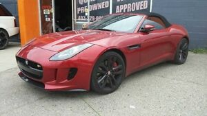 2014 Jaguar F-Type S  - $464.17 B/W  - Low Mileage