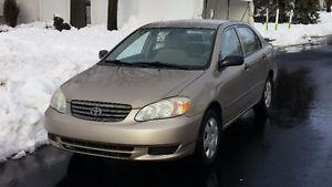 2004 Toyota Corolla 169 815 KM
