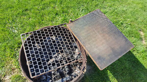fire ring and grates