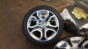 "22"" Harley Davidson Wheels- Like NEW Rim and Rubber!"