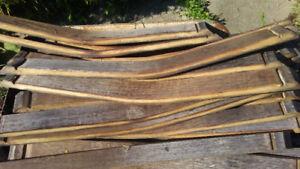 Dismantled Wine barrels