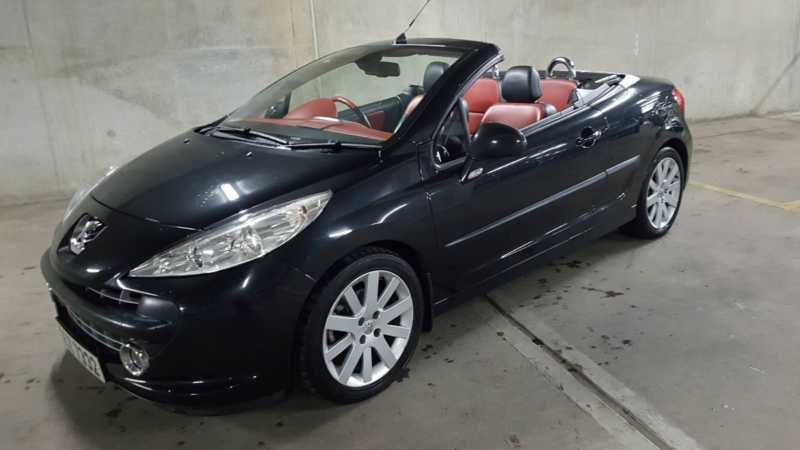 Top Of The Range Peugeot 207cc Gt Convertible Leather
