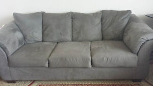 Tow piece of couches