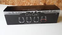 City Chic Stemless Wine Glasses