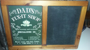 Tin Signs/Chalkboards Mom's Bed & Breakfast&Dad's Fix-It-Shop