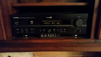 Yamaha RX-V620 Receiver and 2 Digital Audio Speakers