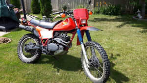 250XR HONDA ENDURO STREET LEGAL