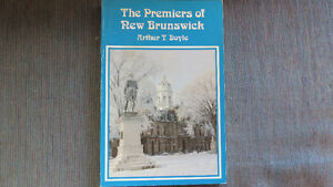 Premiers of New Brunswick book
