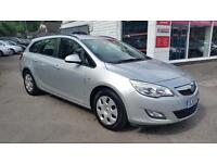 VAUXHALL ASTRA EXCLUSIV CDTI ECOFLEX S-S, Silver, Manual, Diesel, 2012