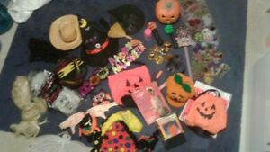 HALLOWEEN costumes,hats and decorations includes gypsy costume,