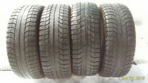 Michelin X-ice 205 55 16 tires only (4). 6mm tread