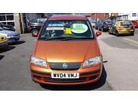 2004 FIAT IDEA 1.4 Dynamic 5 Door From GBP1,695 + Retail Package