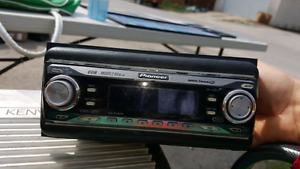 Pioneer CD player and Kenwood amp