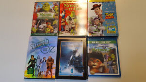 Family Classics Shrek/Toy Story/Wizard of Oz/PolarExpress $5/e