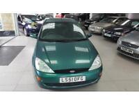 2001 FORD FOCUS LX TDDI Green Manual Diesel