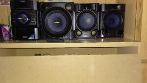 Radio Système de son avec subwoofer