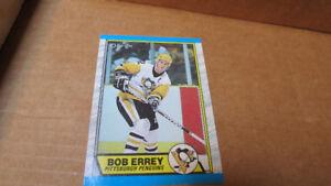 1989-90 Bob Errey NHL OPC rookie card