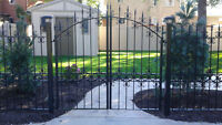 Residential gates,fencing and railings