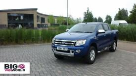 2015 FORD RANGER TDCI LIMITED 197 4X4 DOUBLE CAB PICK UP DIESEL
